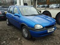 vauxhall corsa b 1.2 breaking for spare parts