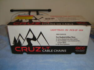 CRUZ LT  CABLE  TIRE  CHAINS