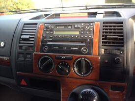 VW T5 Radio Cassette and CD player