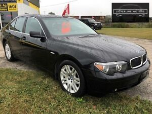 2002 BMW 745,ONLY 79KMS, NAVI, LEATHER, LOADED! 2045090008