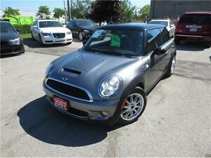 2007 MINI Cooper Hardtop S w/Nav bluetooth