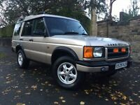 LAND ROVER DISCOVERY 2.5 TD5 GS 7STR 5d 136 BHP 12M MOT+6M WARRANTY+HIS (gold) 2000