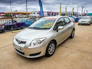 2009 Toyota Corolla ZRE152R Ascent Silver 4 Speed Automatic Hatchback Fyshwick South Canberra Preview