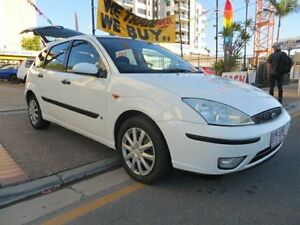 2003 Ford Focus LR CL White 5 Speed Manual Hatchback Southport Gold Coast City Preview