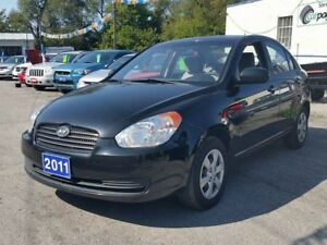 2011 Hyundai Accent GL..certified