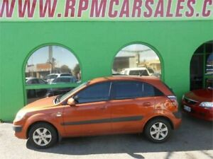 2008 Kia Rio JB LX Tangerine Glow 5 Speed Manual Hatchback Nailsworth Prospect Area Preview