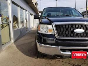 2007 Ford F-150 SuperCrew XLT 4x4 Accident Free Fully Certified.