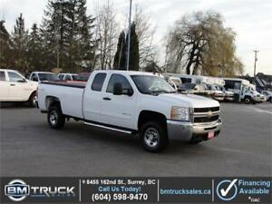 2010 CHEVROLET SILVERADO 2500HD LT EXT CAB LONG BOX 4X4