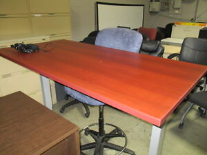 Sit Stand Height Adjustable Table Desk