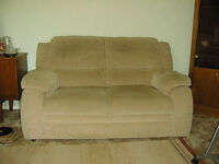 2 seater sofa made by Courts of Norwich