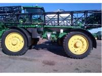 2010 John Deere 4930 120 foot sprayer