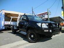 2010 Toyota Hilux KUN26R SR Black 5 Speed Manual Single Cab Southport Gold Coast City Preview