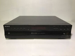 SONY CDP-CE500 5-DISC CD CHANGER (NO REMOTE) - MNX