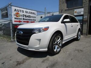 Ford EDGE SPORT, MAGS 22 POUCES, CUIR, TOIT, NAV, COMME NEUF 201