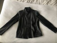 John Varvatos Leather Jacket (brand new never worn) size 50