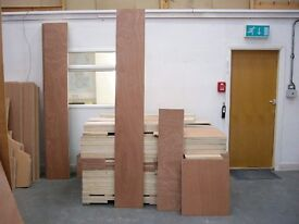PLYWOOD-FRESH EXTERIOR GRADE OFF CUTS FROM ONLY 20p