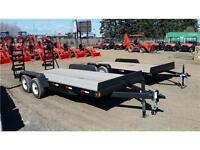 18' Equipment Trailer by Precision Trailers