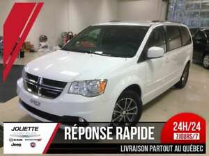2017 Dodge Grand Caravan SXT, STOW & GO, MAG, BLUETOOTH, CUIR, F