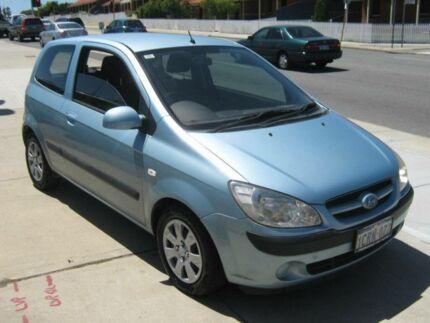 2006 Hyundai Getz TB Upgrade 1.6 Light Blue 4 Speed Automatic Hatchback