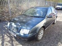 VOLKSWAGEN BORA 1.9TDI HIGHLINE 130 BHP 2005 4 DOOR SALOON 126,000 MILES MOT 2/05/18 NO ADVISORIES