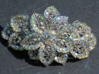 Butler & Wilson Crystal Flower Hairclip