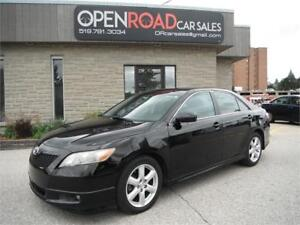 2007 Toyota Camry SE * LOW KMS * SUNROOF * HEATED LTHR SEATS