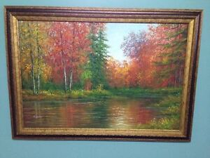 Beautiful hand-painted oil painting for sale