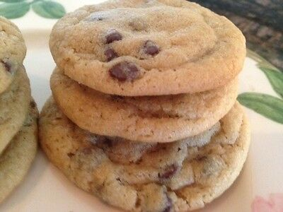 2 dozen Homemade CHOCOLATE CHIP Cookies * SOFT & PUFFY * Made to Order *