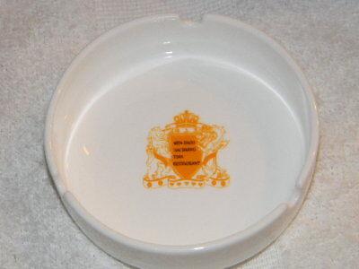 Wen Zhou Hai Shang Tian Restaurant -ashtray- Long Da-Bone China- HTF