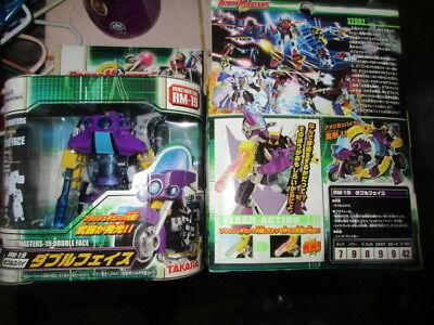 Takara Tomy Transformers Robot Master RM-19 Double face Gundam Collection