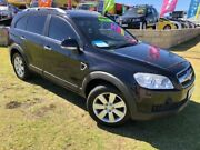 2008 Holden Captiva CG MY08 LX AWD Black 5 Speed Sports Automatic Wagon Wangara Wanneroo Area Preview