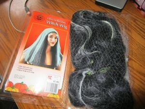 Long witch hair wig