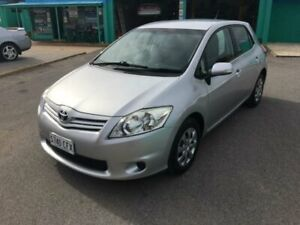 2010 Toyota Corolla ZRE152R MY10 Ascent Silver 4 Speed Automatic Hatchback Christies Beach Morphett Vale Area Preview