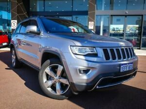 2013 Jeep Grand Cherokee WK MY2014 Limited Silver 8 Speed Sports Automatic Wagon