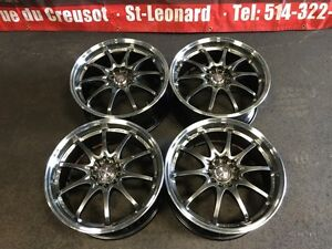 JDM VOLKRACING CE28 18''INCH MAGS ONLY WHEELS 18X8.5 5X114.3 +52