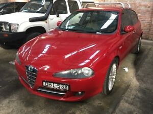 2007 Alfa Romeo 147 MY06 JTD Red 6 Speed Manual Hatchback Georgetown Newcastle Area Preview