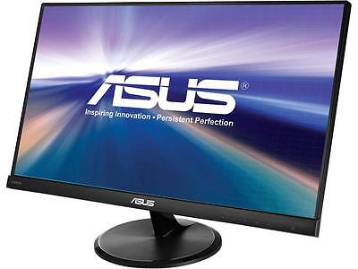 "شاشة ليد جديد Asus VC239H Slim Bezel Black 23"" 5ms (GTG) IPS Widescreen LED Backlight LCD Moni"