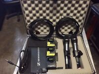 Sennheiser Wireless Instrument (2) and Microphone (2) units