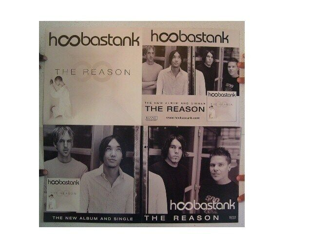 Hoobastank Poster  The Reason  Two Sided 12x24