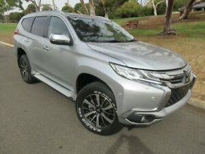 2017 Mitsubishi Pajero Sport QE MY17 Exceed Silver 8 Speed Sports Automatic Wagon Old Reynella Morphett Vale Area Preview