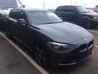 BMW 1 SERIES 2.0 118D SPORT 5d AUTO 141 BHP (grey) 2011