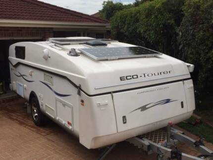 Eco Tourer Caravan with Shower and Toilet Prestons Liverpool Area Preview