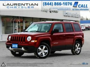2016 Jeep Patriot -BLUETOOTH, SUNROOF, LEATHER, 4X4!!!
