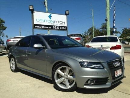 2011 Audi A4 B8 8K MY11 Multitronic Grey 8 SPEED Sedan Southport Gold Coast City Preview