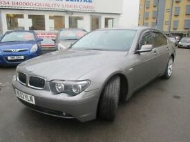 BMW 7 SERIES 3.0 730D SPORT 4d AUTO 215 BHP (grey) 2003