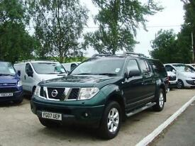 2007 NISSAN NAVARA 2.5 DCI D CAB PICK UP OUTLAW 4WD NO VAT