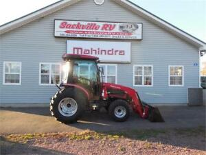 New demo Mahindra 3540PST, Cab & Loader included