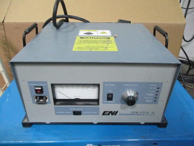 ENI OEM-6A-02 RF Generator, OEM-650A X2, 208V, 15A, 650W, 450739
