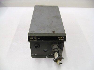 King KNR-660 VOR/LOC-RMI NAV Receiver