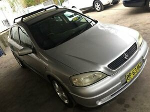 2001 Holden Astra TS CD Silver 5 Speed Manual Sedan Jewells Lake Macquarie Area Preview